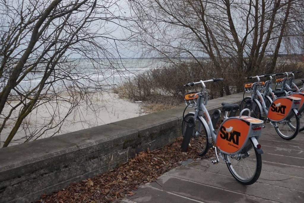 море-велосипед