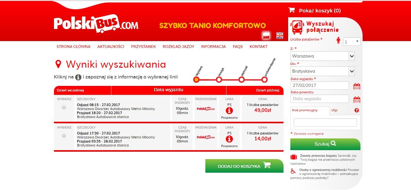 Варшава-Братислава