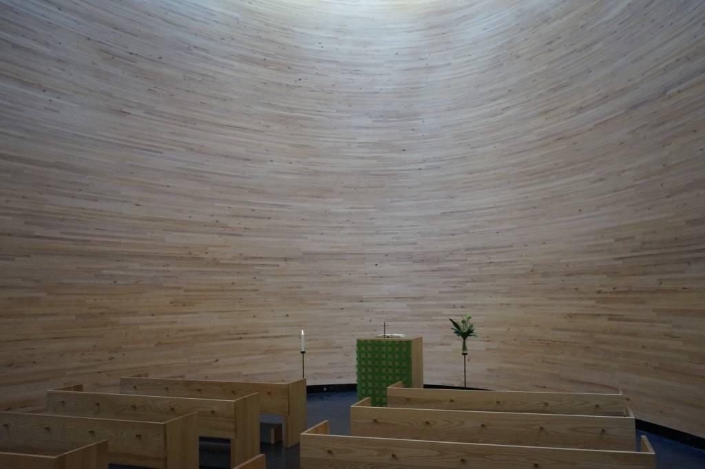 Kamppi-Chapel-cerkov