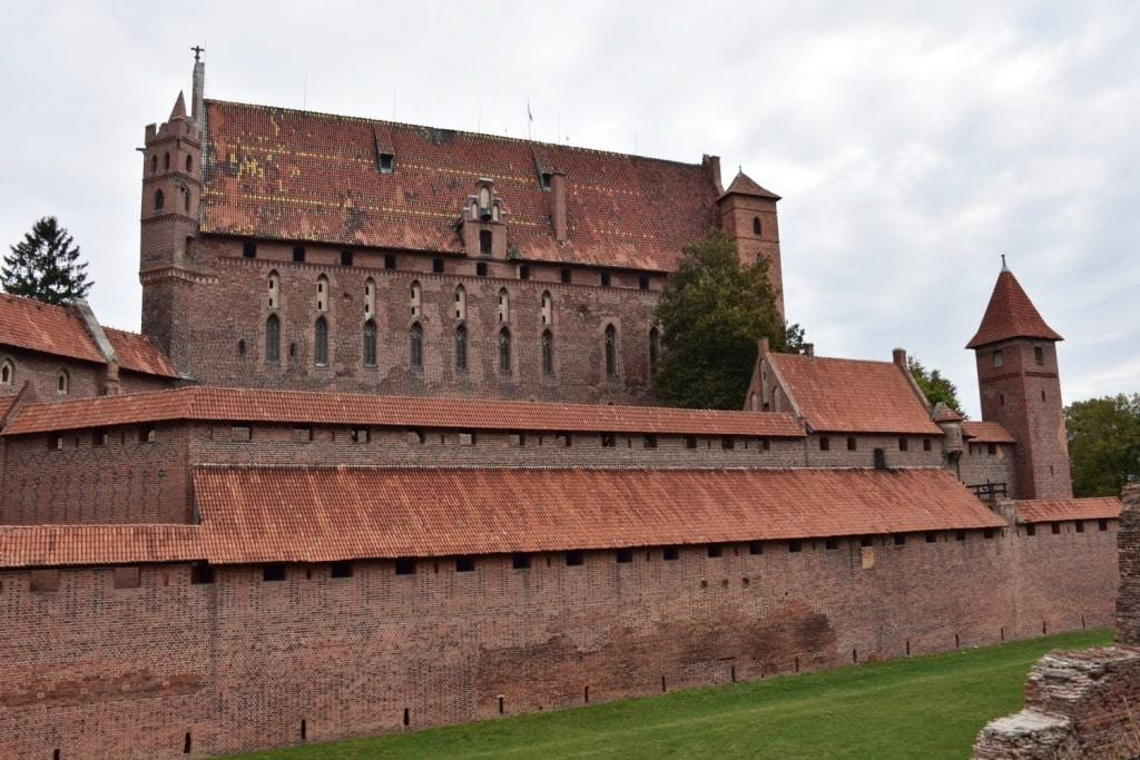 Замок Мариенбург в Мальборке: стоимость билетов, фото внутри и снаружи + личные впечатления