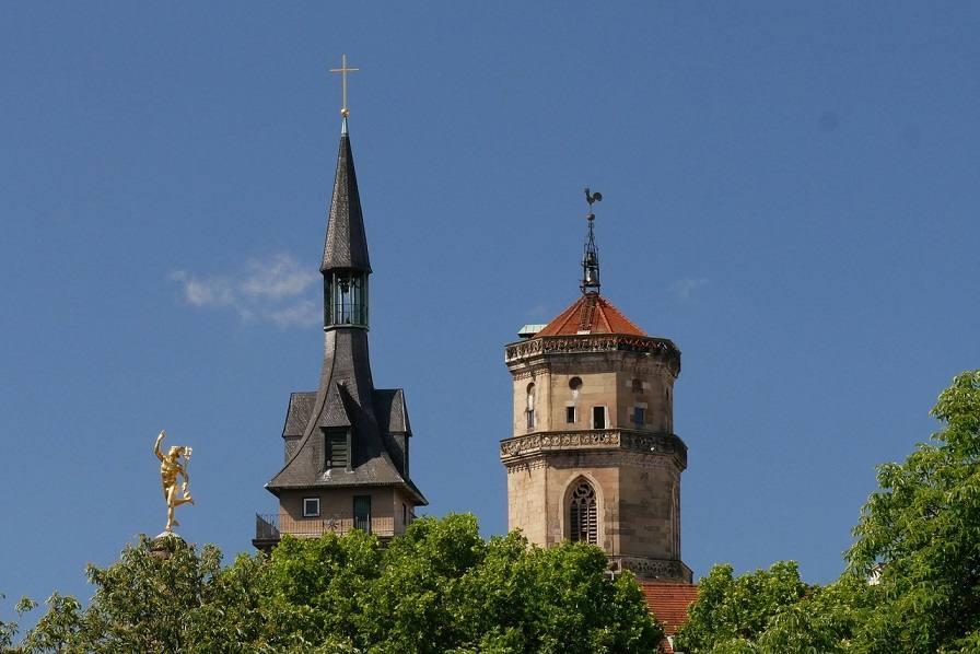 Штутгарт - старинный город с современными технологиями и красотой прошедшего века