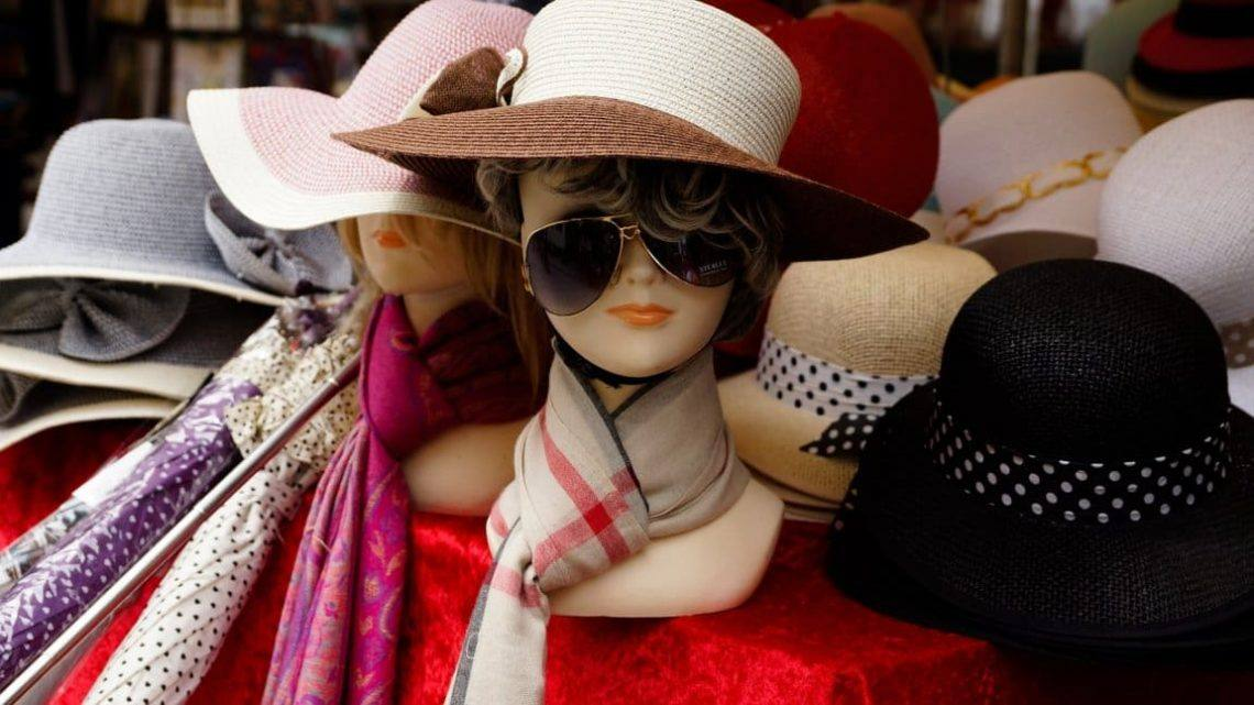 шляпки и шарфики