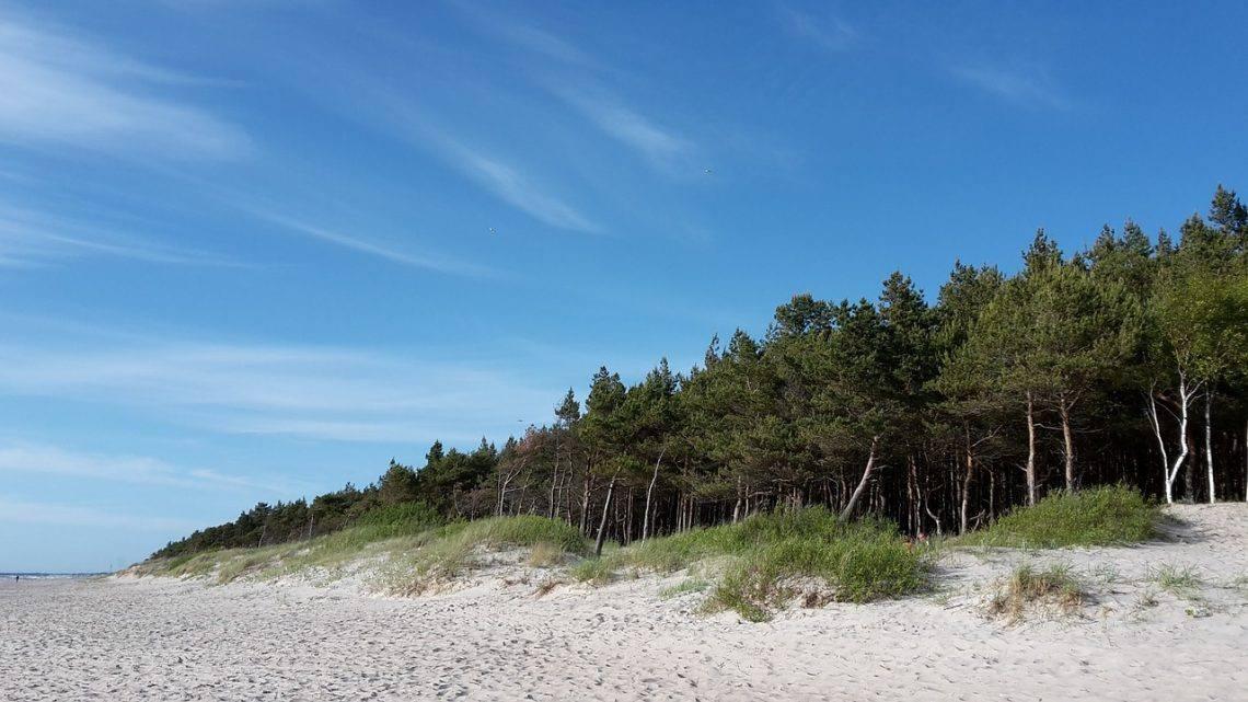 пляж в Клайпеде