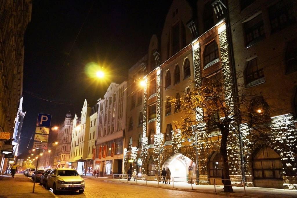 Riga vecherom