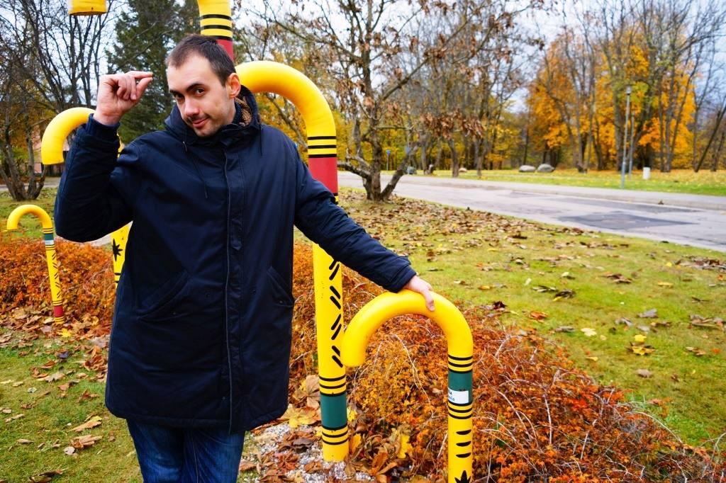 Парк тростей и я