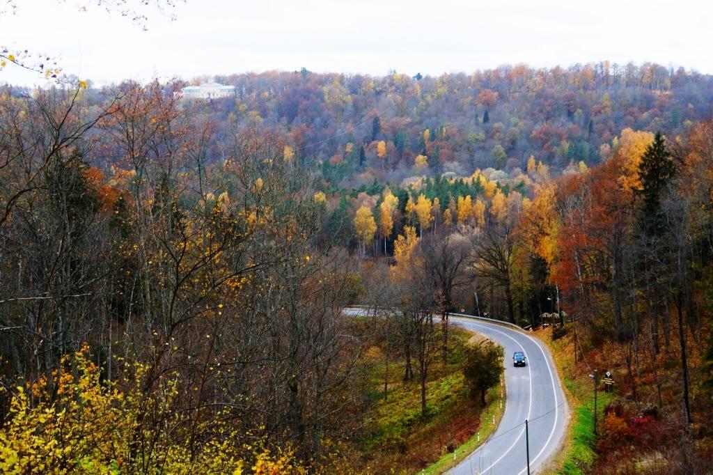 осень в Латвии