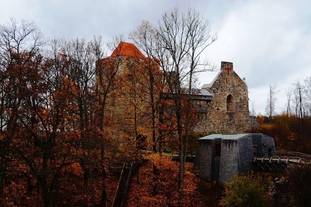 замок Сигулда