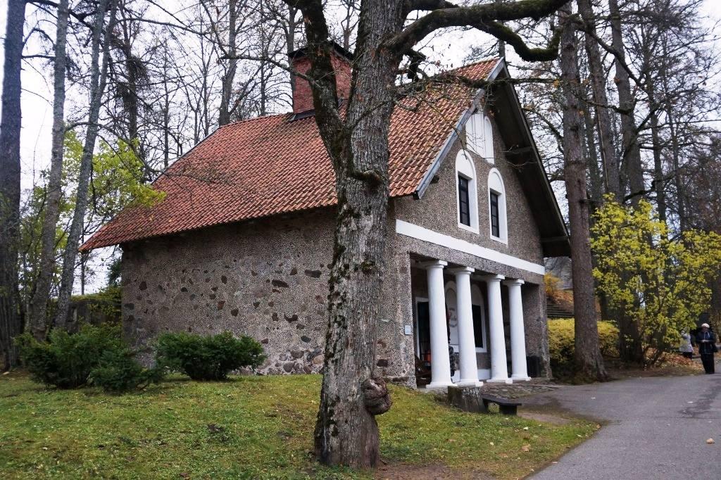 дом в Турайдском замке