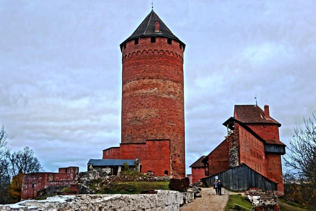 Башня в Турайде