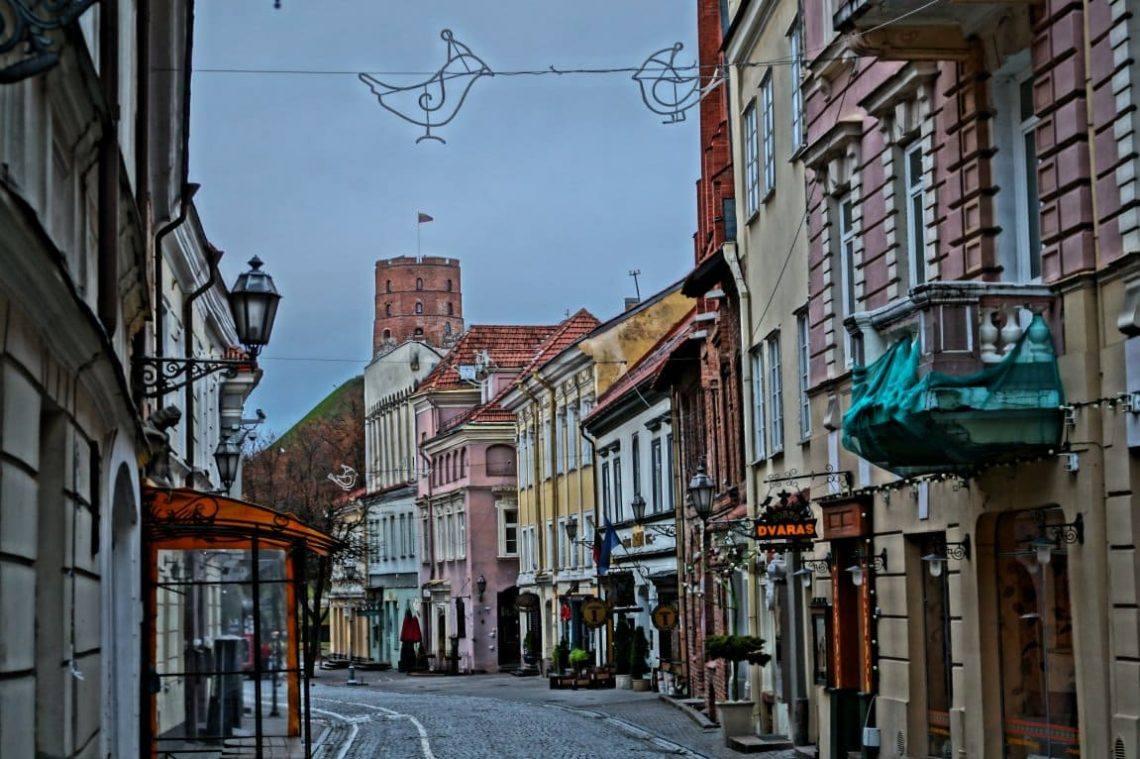 Вильнюс улица