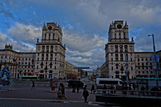 башни ворота в город