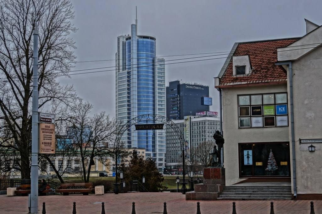 Минск небоскреб