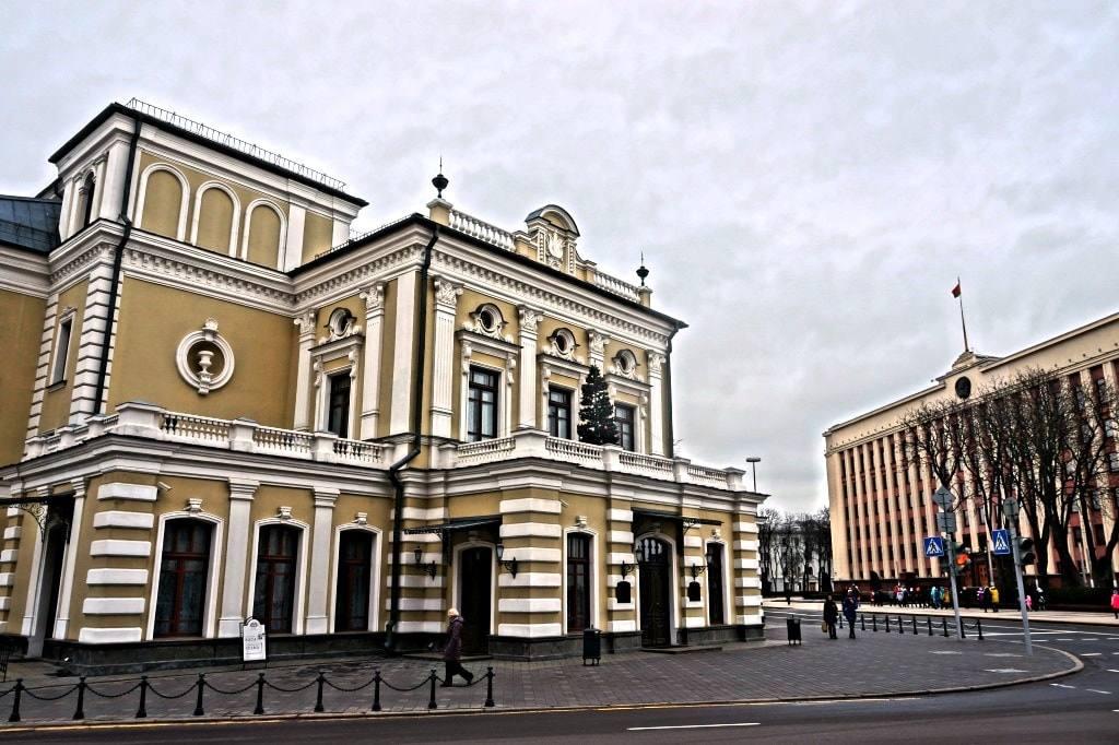 Купаловский театр в Минске