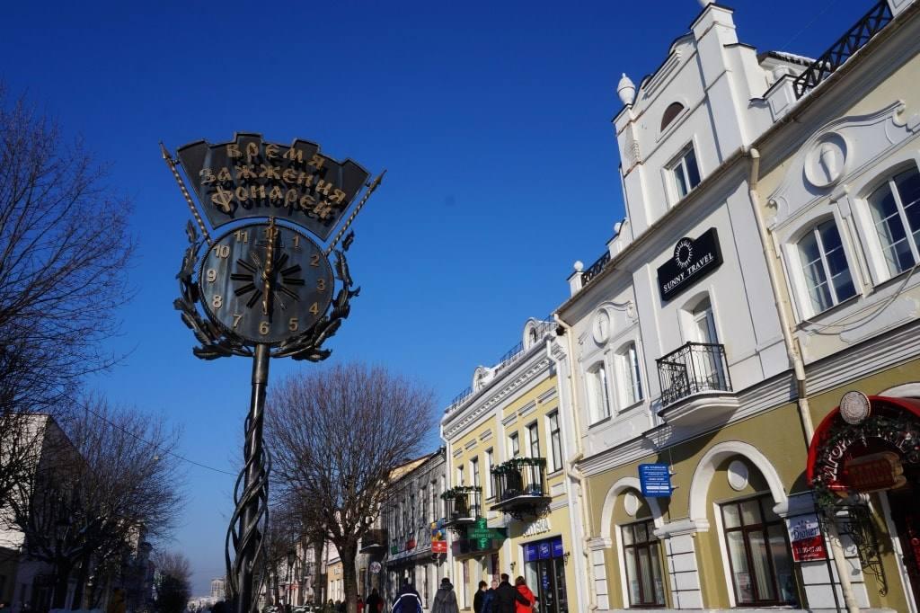 фонари Брест