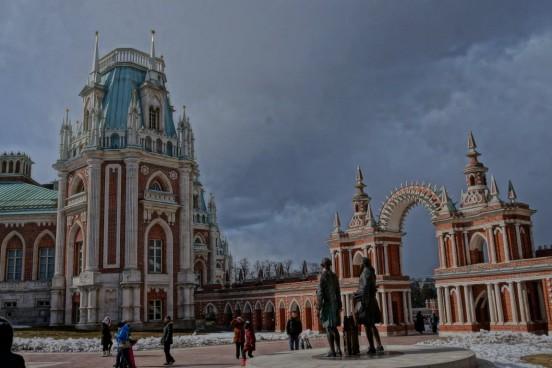 дворец Екатерины в Царицыно