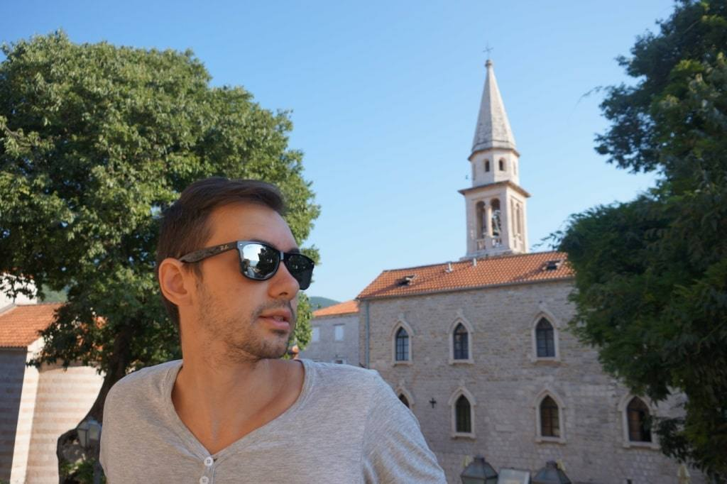 St. Ioanna church in Old town Budva