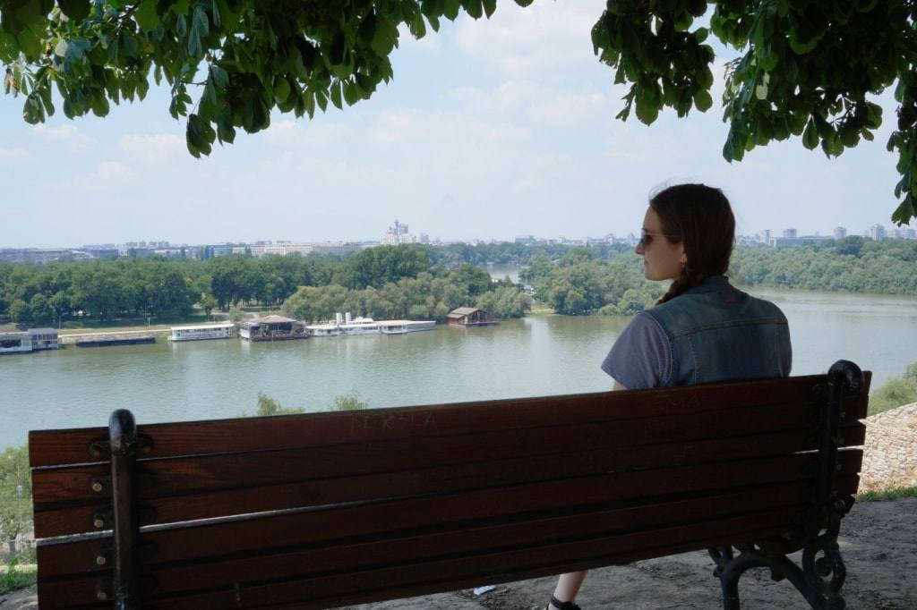 view from Kalemegdan park Belgrade