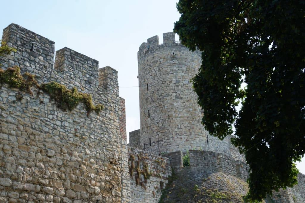 Kula Despota tower in Belgrade fortress Serbia