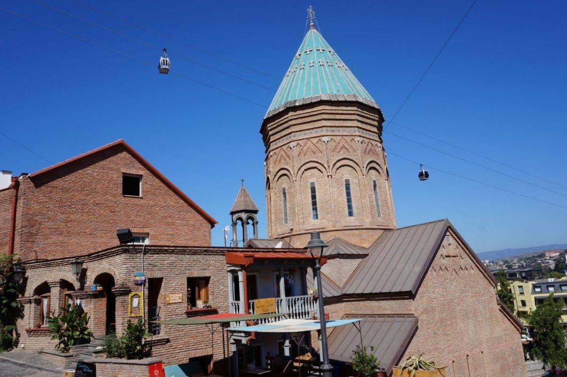 Тбилиси с высоты: крепость Нарикала, монумент «Мать Грузия» и многое другое