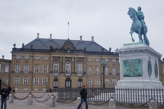 amalienborg-kopengagen