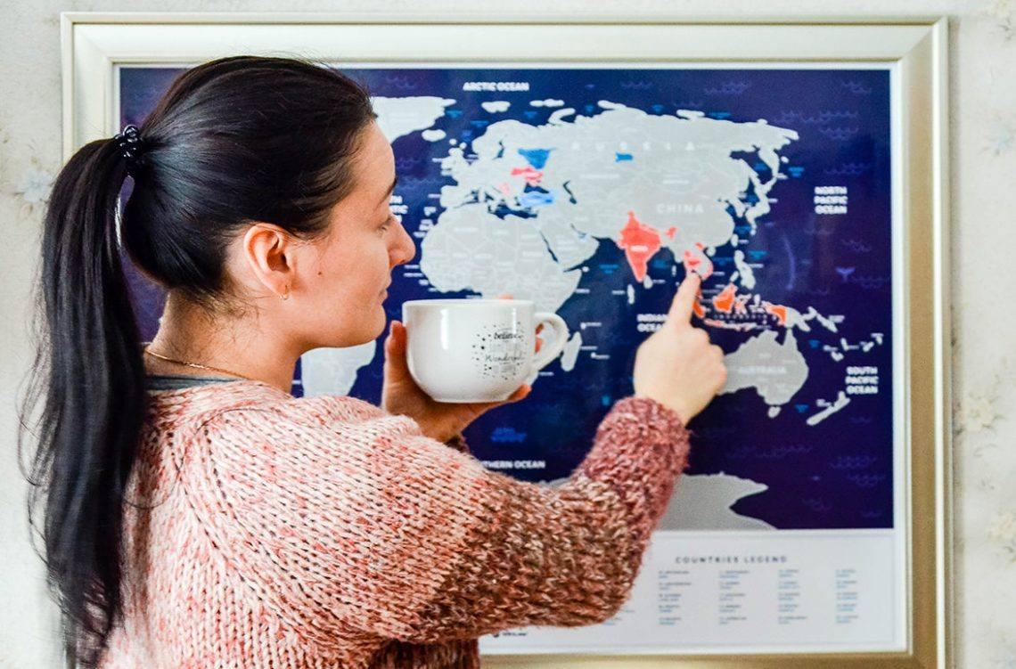 Путешествия нон-стоп. Интервью девушки, которая постоянно живет в разных странах.