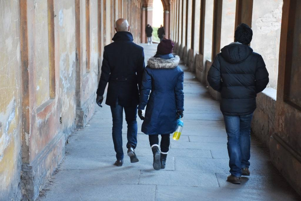 Святилище Мадонна ди Сан Люка в Болонье. Путь боли и летающая Барби.