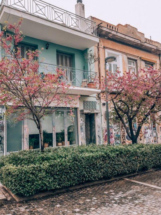 В каком районе Афин лучше жить и подбирать отель туристу. ТОП-9 мест.