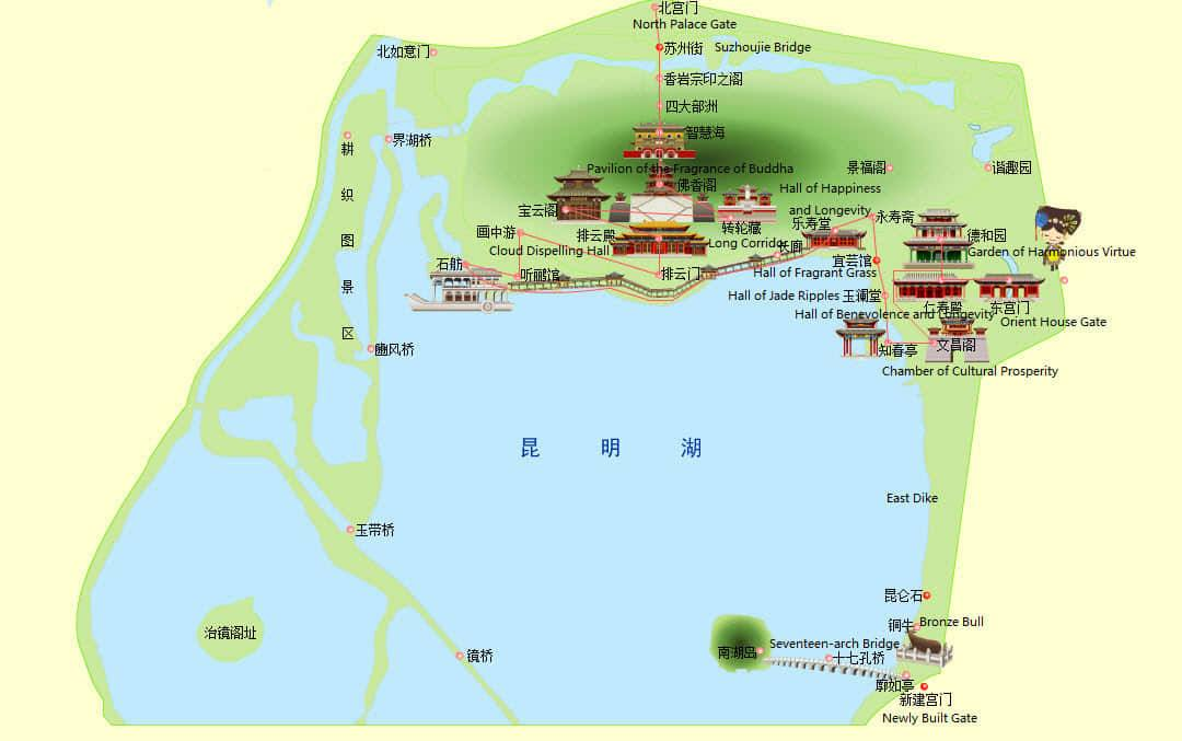 map-of-summer-palace