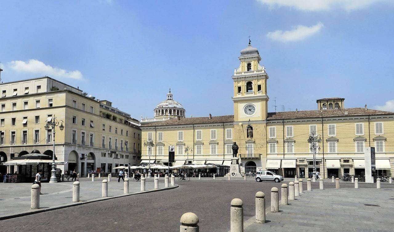 Итальянский курорт Парма - город-историческая ценность
